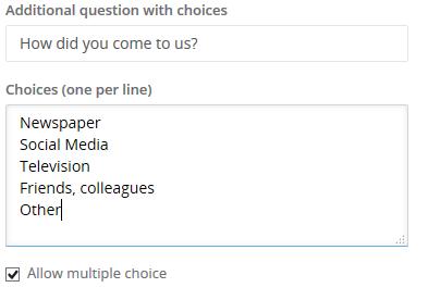 Callexa Feedback - Zusatzfragen
